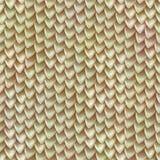 Seamless texture of metallic dragon scales. Reptile skin pattern
