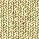Seamless texture of metallic dragon scales. Reptile skin pattern royalty free stock photo