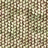 Seamless texture of metallic dragon scales. Reptile skin pattern Stock Photo