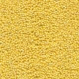 Seamless texture of millet grains. Color yellow stock images