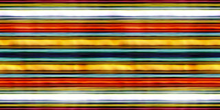Seamless texture multicolored horizontal lines 3D illustration Stock Photo
