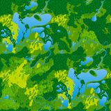 Seamless texture terrain map Stock Photo