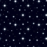 Seamless texture night sky with lots of stars 3 Stock Image