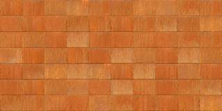 Seamless Texture Of Rusted Cor-Ten Metal Sheets Stock Photo