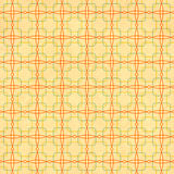 Seamless texture of the old paper with geometric ornamental patt Stock Photos