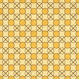 Seamless texture of the old paper with geometric ornamental  Royalty Free Stock Photography