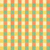Seamless texture of the old paper with retro geometric ornamenta Stock Photo