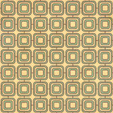 Seamless texture of the old paper with retro geometric Royalty Free Stock Image