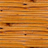 Seamless texture of old yellow wood boards Stock Photos
