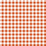 Seamless texture of orange plaid Royalty Free Stock Photos