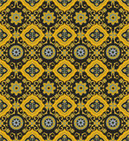 Seamless texture. Seamless orient paisley fabric background pattern in vector. Indian texture Royalty Free Stock Image