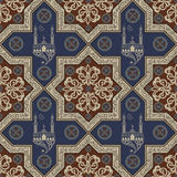 Seamless texture with an oriental topic 22 Royalty Free Stock Photo