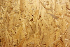 Seamless texture of oriented strand board OSB Royalty Free Stock Images