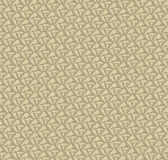 Seamless texture with outlined decorative flowers Royalty Free Stock Image