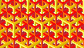 Seamless texture pattern. Seamless pattern of red and yellow blocks Royalty Free Stock Photo