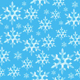 Seamless texture pattern polygon pointed snowflake ice on a ligh Royalty Free Stock Photography