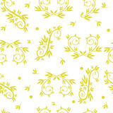 Seamless texture patterns with ornaments Stock Image