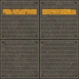 Seamless texture of pavement with a caution line Royalty Free Stock Images