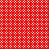 Seamless texture - pearls on a red background. Seamless texture in the form of pearls on a red background. Pearl peas on red Royalty Free Stock Photos