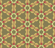 Seamless texture with plant motif Royalty Free Stock Images