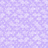 Seamless Texture with Purple Clouds Royalty Free Stock Photos