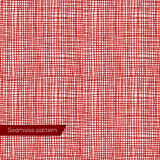 Seamless texture of red canvas Stock Photos