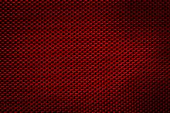 Seamless Texture of Red Carbon Fibers Cloth royalty free stock image