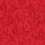 Seamless texture of red flowers petals stock photography
