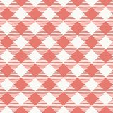 Seamless texture of red plaid Stock Photography