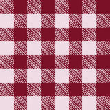 Seamless texture of red plaid Stock Images