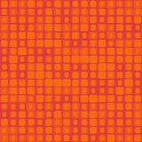 Seamless texture in red with squares Stock Photos