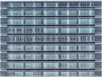 Seamless texture resembling windows. Of a high rise building Stock Image