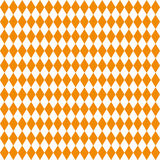 Seamless texture of rhombuses. White and orange colors. Stock Images