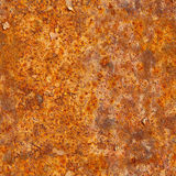 Seamless texture of rusty metal surface. Grunge photographic pat Stock Photos