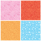 Seamless texture seasons Stock Photo
