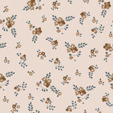 Seamless texture with small flowers. In retro style Stock Photos