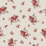 Seamless texture with small flowers. In retro style Stock Photography