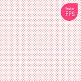 Seamless Texture with Small Pink Dot. Pink Polka Dot Pattern Background Vector Illustration Stock Photography