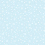 Seamless texture with snowflakes Royalty Free Stock Image