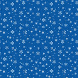 Seamless texture with snowflakes. Winter seamless texture with snowflakes royalty free illustration