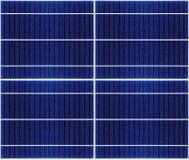 Seamless texture of solar panel closeup Stock Image