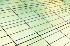 Seamless texture of a solar panel closeup. Invert color photo Stock Photo