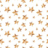 Seamless texture with stars festive on a white background vector illustration