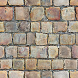 Seamless texture of stone floor Stock Image