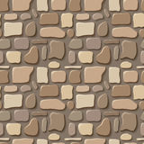 Seamless texture of stone wall. Stock Image