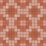 Seamless texture of stonewall tile. Seamless texture of red colors stonewall tile Stock Photo