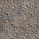 Seamless Texture Surface Of The Moon Royalty Free Stock Photography