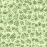 Seamless texture. swampy-green curly leaves Royalty Free Stock Image
