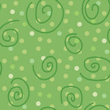 Seamless texture with swirls. Illustration Stock Photos