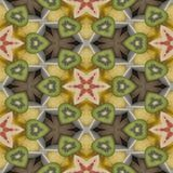 Seamless texture to the dining room tablecloth. Texture coconut. Tropical motif print. Stock Image